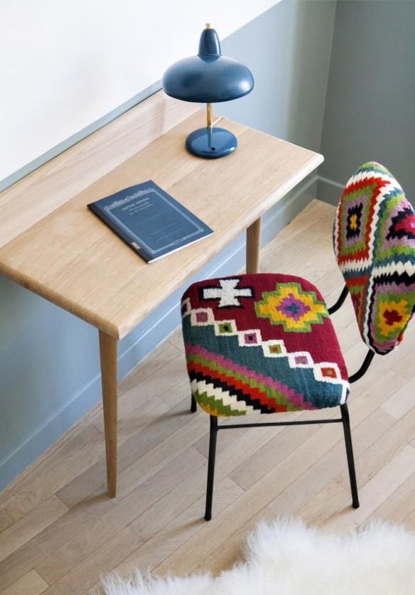 un h tel en ton pastel et touche vintage. Black Bedroom Furniture Sets. Home Design Ideas