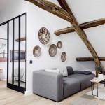 Sous les combles : Un appartement sous les toits à Paris