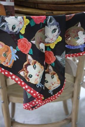 Nathalie-Lete-silk-cat-scarf