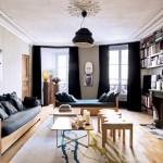 Entre classicisme et contemporanéité pour cet appartement parisien