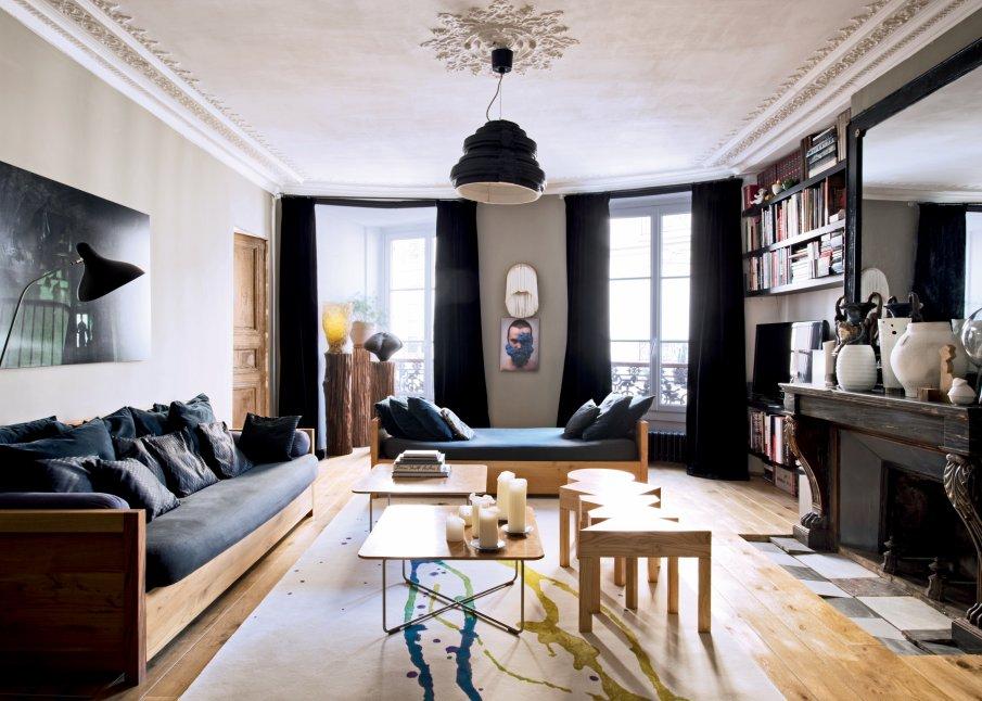 D coration appartement parisien for Deco interieur appartement moderne