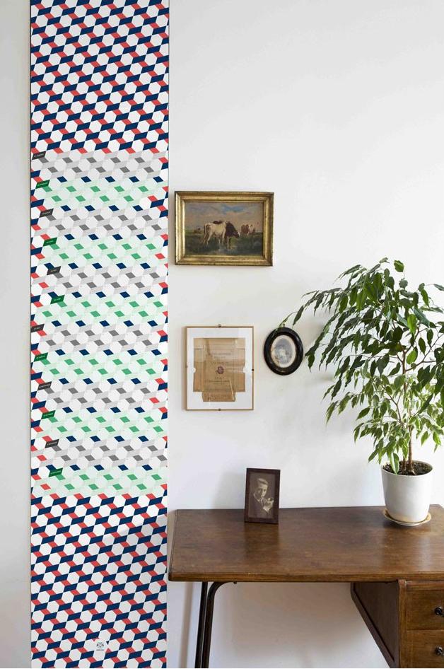 Le papier temps polygone - design Papier Tigre