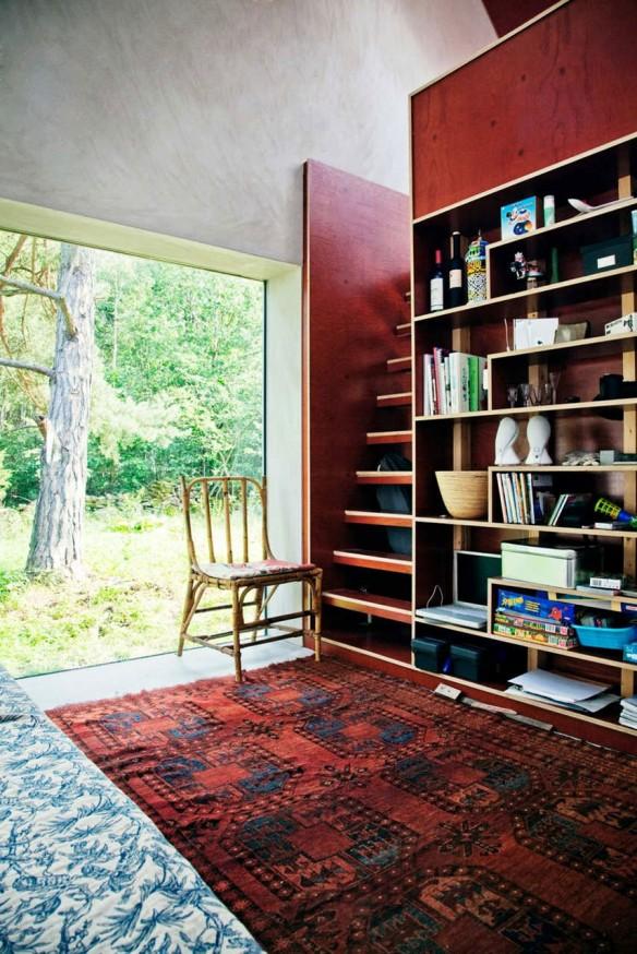 Studio Dinell Johansson - Hamra house Suède || Marsala Pantone couleur 2015
