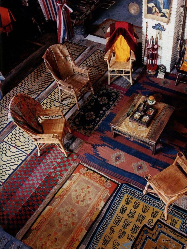 via the home of the interior    Marsala Pantone couleur 2015