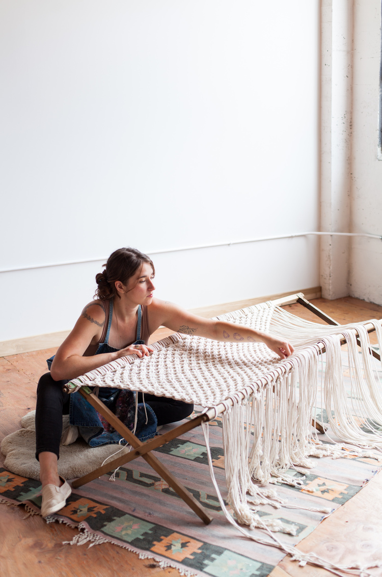Emily Katz's friend workshops - Moderne macramé