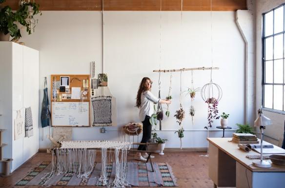 Emily Katz workshops - Moderne macramé