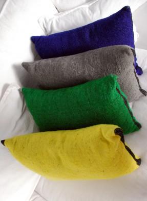 Honoré Décoration - Coussins en laine