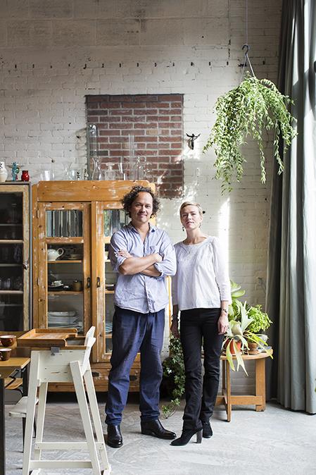 Le loft de Maurice Scheltens & Liesbeth Abbenes Amstedam, rénové par Houben & Van Mierlo Architecten