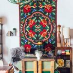 Bohème ethnique pour le studio de Justina Blakeney
