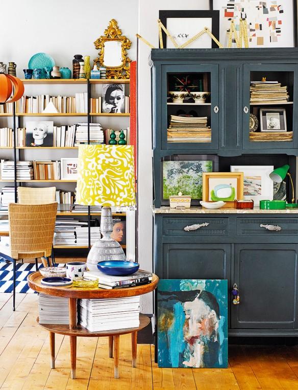 Une maison au style color et clectique madrid - Maison de famille meubles ...