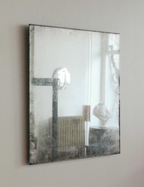 Maureen Fullam - Miroir - Verre églomisé