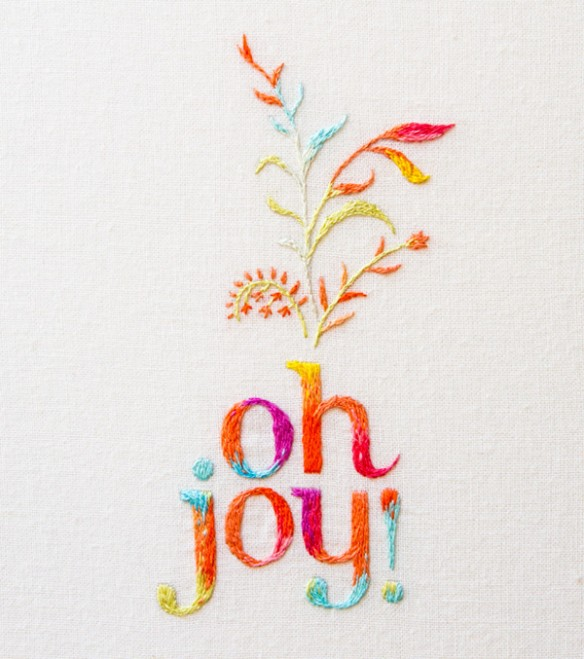 Studio MaricorMaricar - oh joy embroidered logo