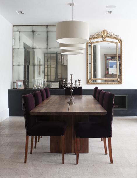 Rupert Bevan interior portefolio - Miroir antique
