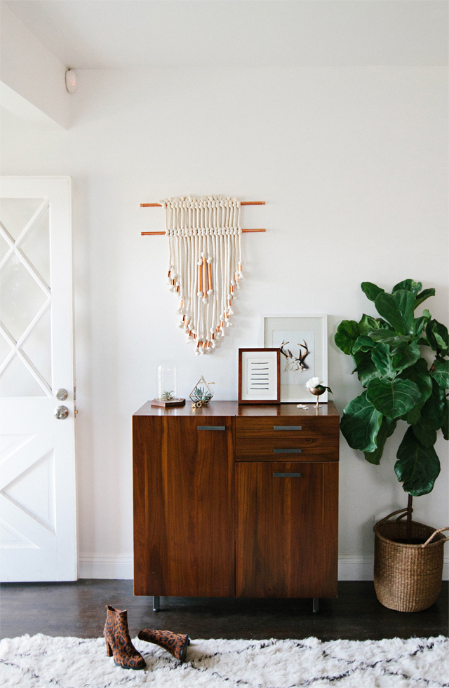 Smitten Studio - DIY copper wall hanging