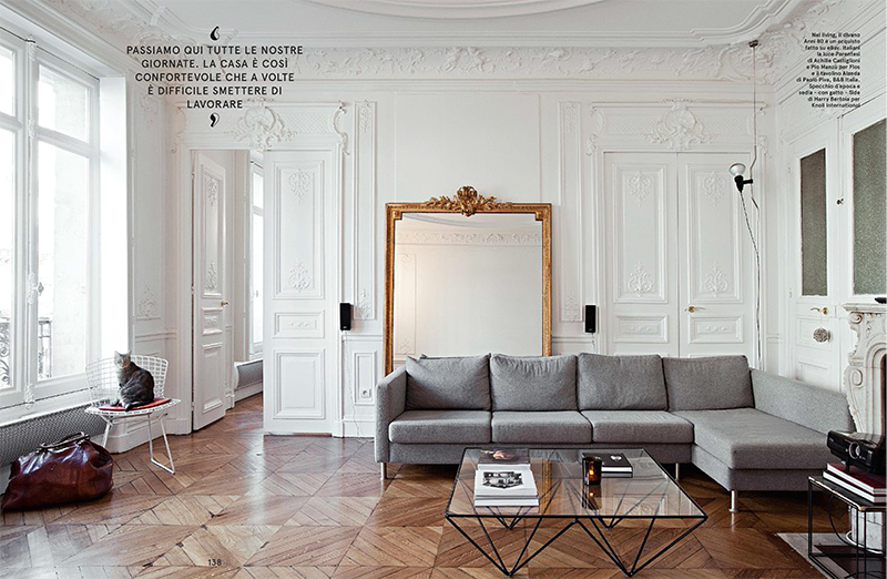 Festen architecture - appartement à Paris - Living magazine