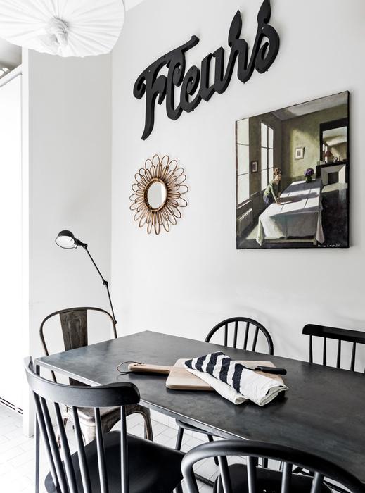 Style ethnique en blanc et noir par maison hand - Society linge de maison boutique ...