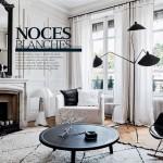 Style ethnique en blanc et noir par Maison Hand