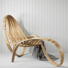 Tom Raffield - Chaise longue lifestyle Square