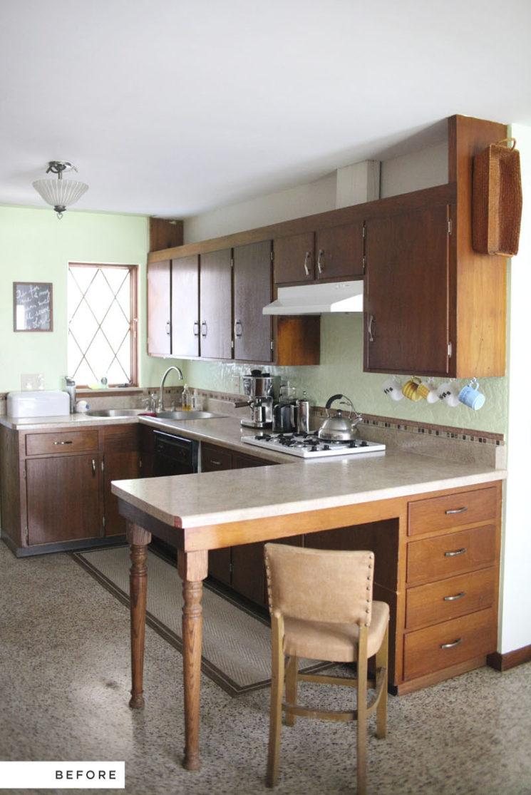 Relooker sa cuisine : repeindre les placards || Relooking cuisine sur a beautiful mess
