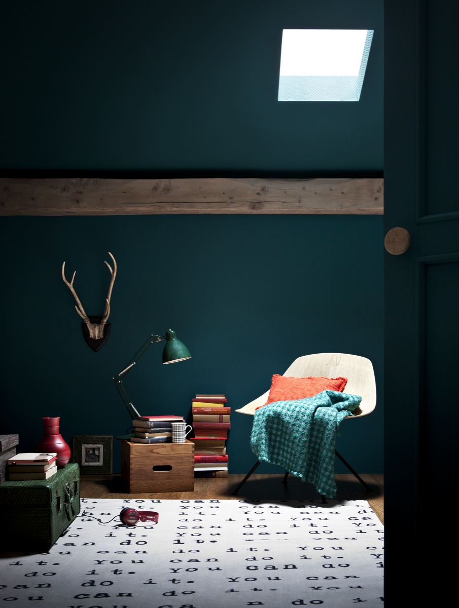 la couleur de l 39 ann e bleu paon ou bleu canard. Black Bedroom Furniture Sets. Home Design Ideas
