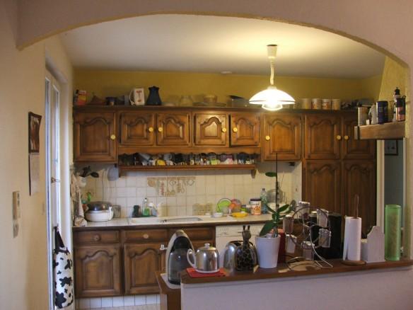 CBL Déco - Exemple de relooking de cuisine - avant