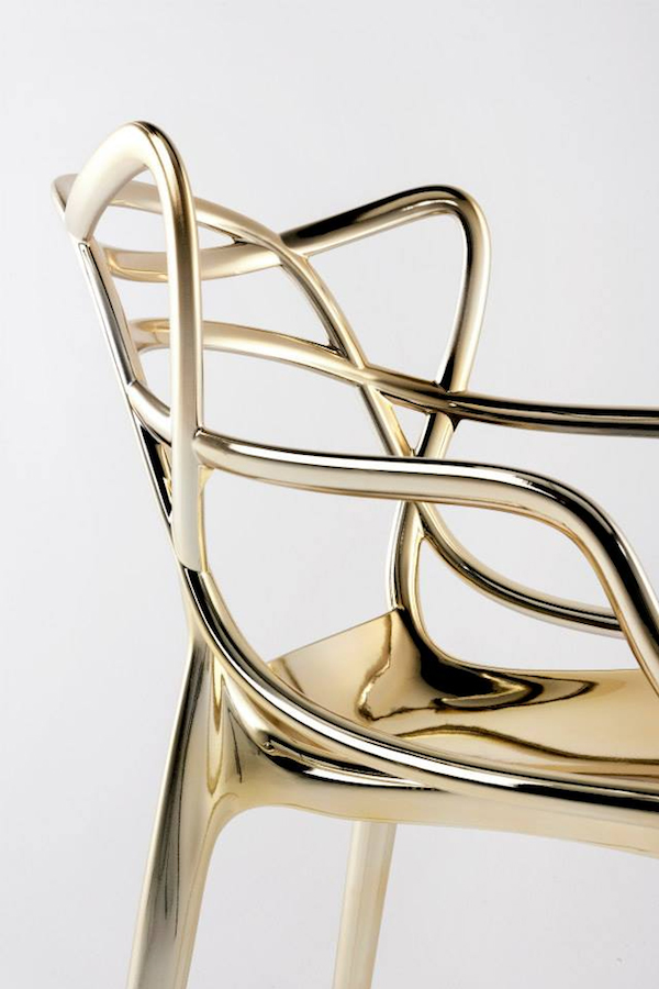 Golden Kartell chair