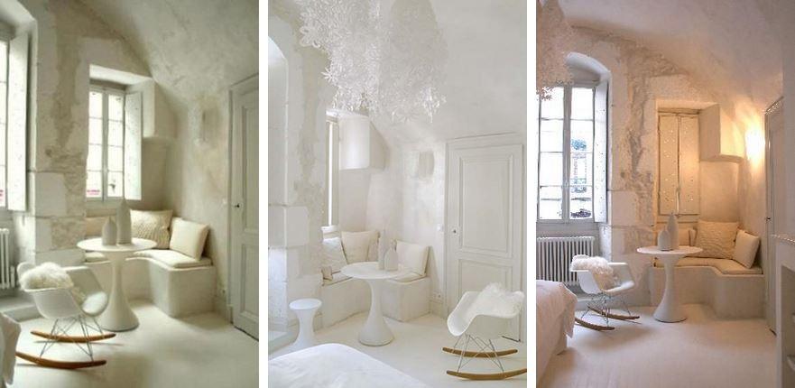 Le choix du blanc en décoration d'intérieur - Le lieu unique Nancy - La suite Cocon