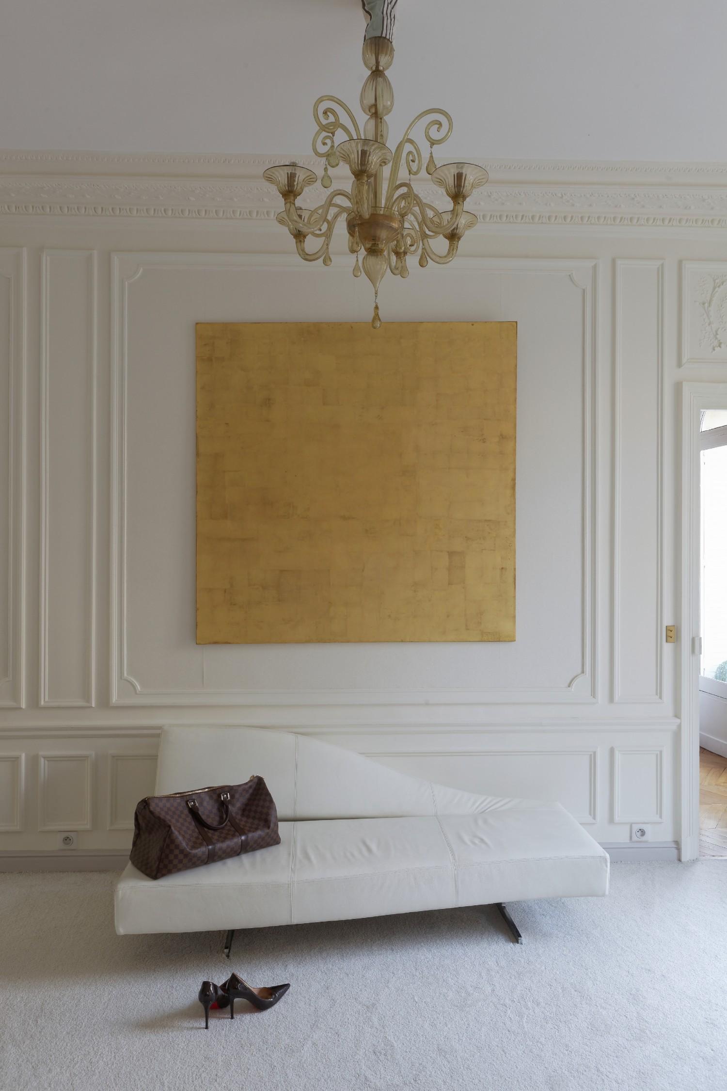 Décoration D Intérieur Peinture Murale mettre de l'or dans sa décoration - turbulences déco
