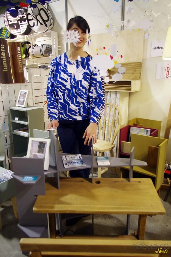 Salon ID Art - Mars 2015 - Stand Mademoiselle Fabrique & Bertille Rolland