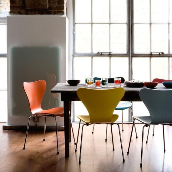 Séries 7 chaises par Arne Jacobsen