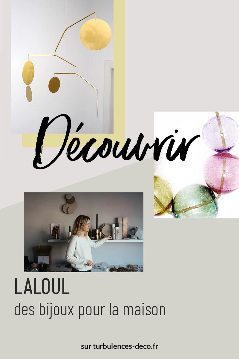 [ Découvir le design ] LaLouL, des bijoux pour la maison à retrouver sur Turbulences Déco