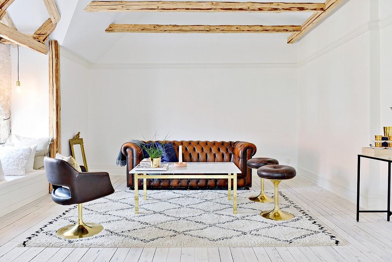 Appartement en vente sur Bjurfors || une touche d'or dans ma décoration