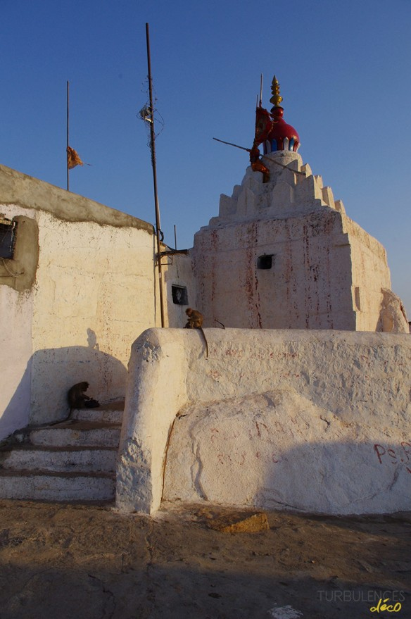 Voyage en Inde - Village Anegundi (Hampi) - Temple d'Anjana Matha