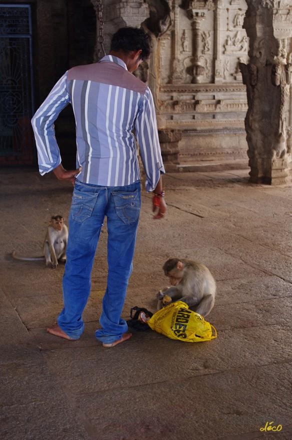 Voyage en Inde - Site de Hampi - Temple de Virupaksha