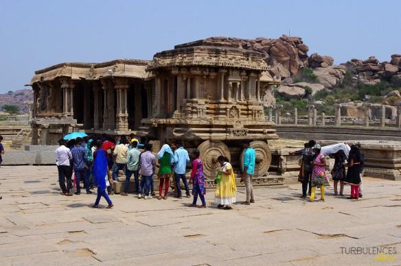 Voyage en Inde - Site de Hampi - Vitthala Temple