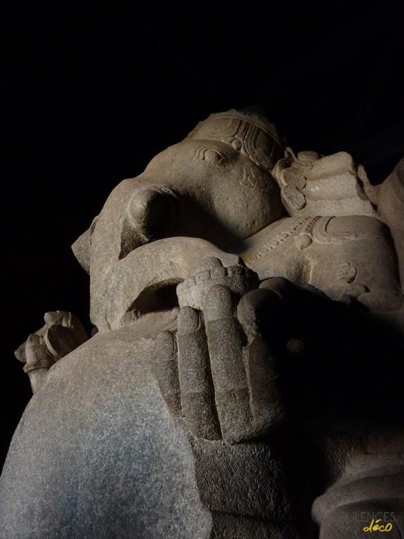 Voyage en Inde - Site de Hampi - Kadalekalu Ganesha