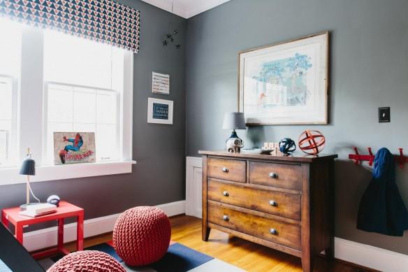 Une chambre double de garçons // Design interior Jenna Buck Gross - Projet Shared Boys Room