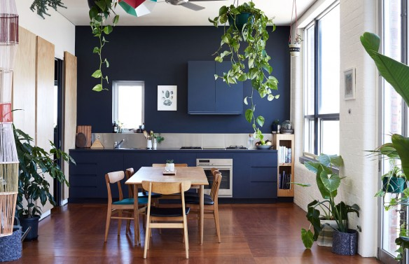 Kate Stokes and Haslett Grounds Fitzroy loft - The design files