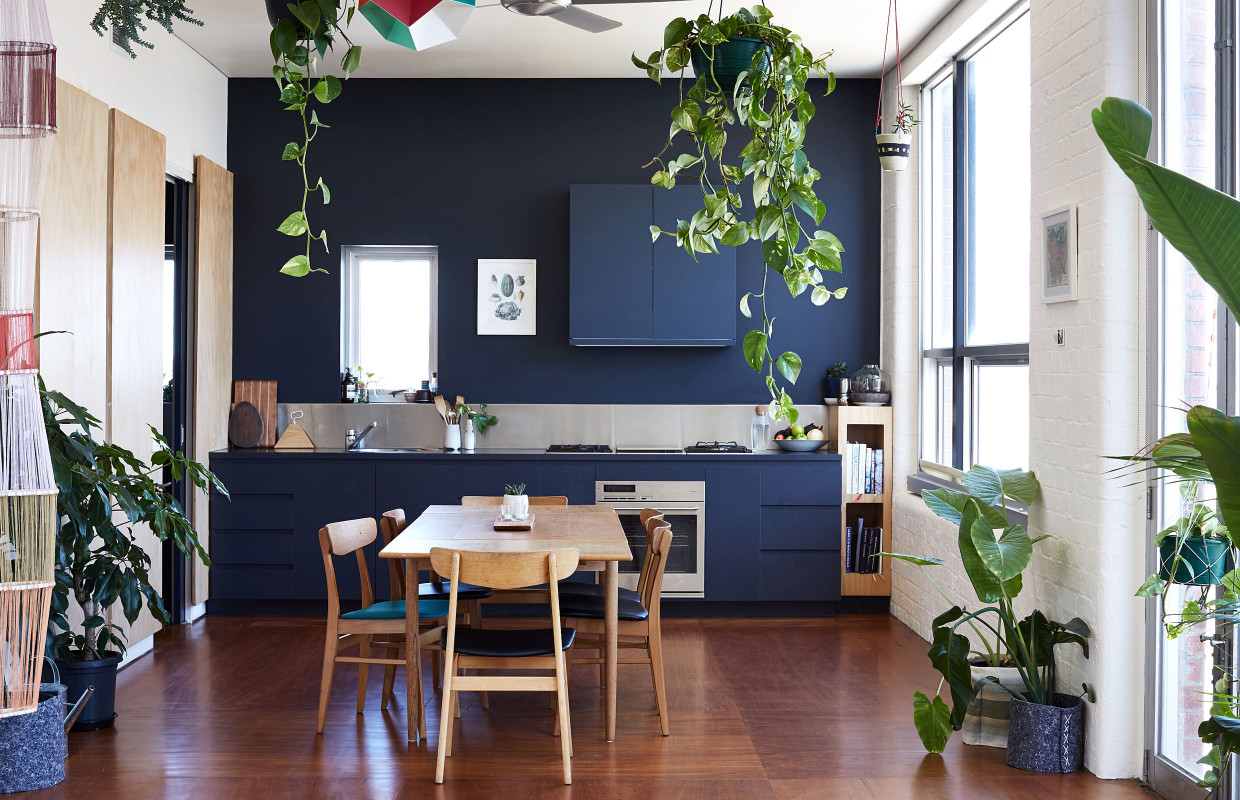 kate stokes and haslett grounds fitzroy loft the design files
