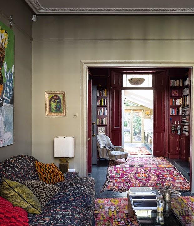 Margaret Crow London house || De l'ethnique, de la couleur