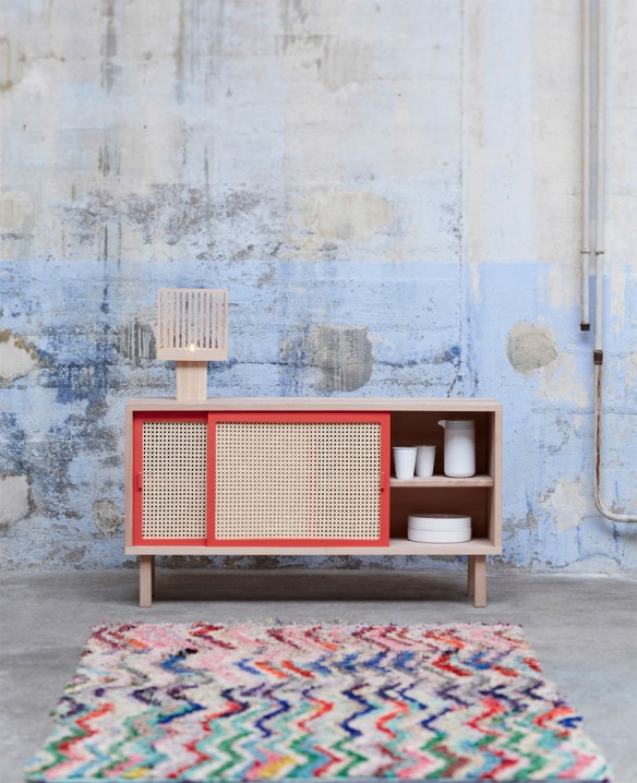 Buffet STRAW collection 2015 par Mon colonel design Paris