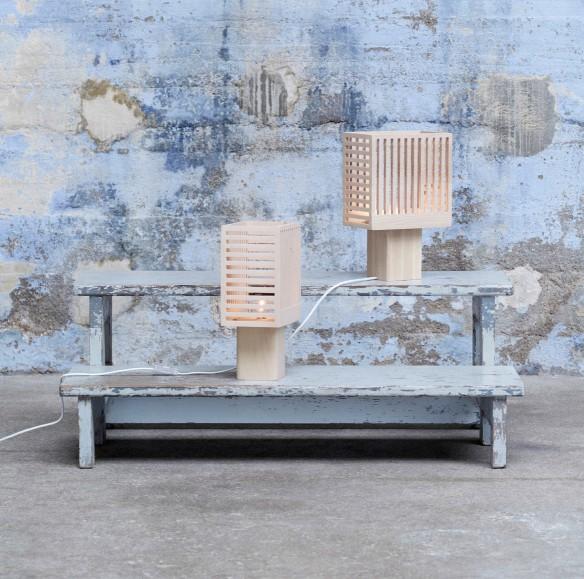 Lampe KYOTO collection 2015 par Mon colonel design Paris