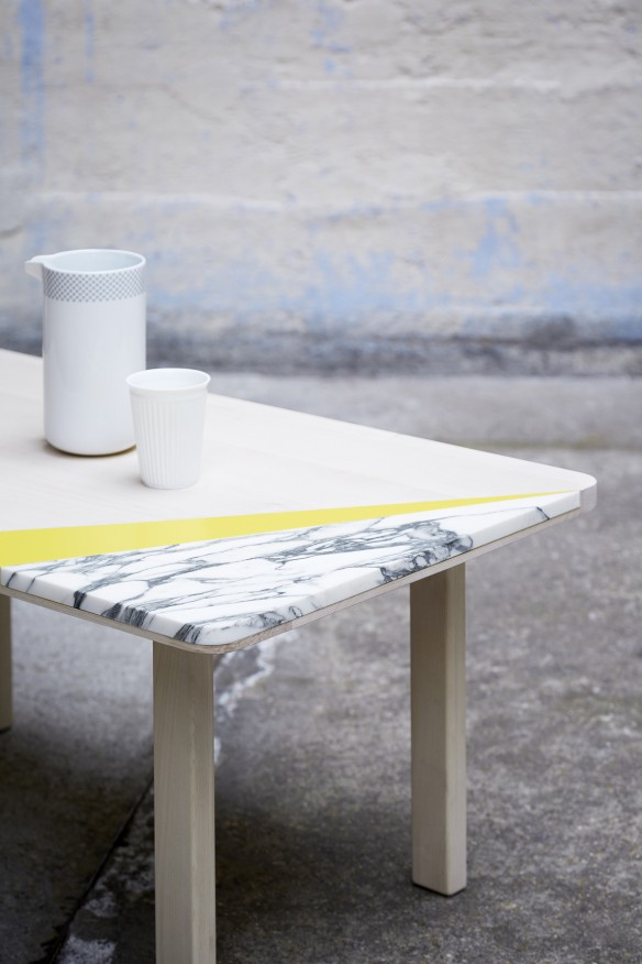 Table ARABESCATO collection 2015 par Mon colonel design Paris
