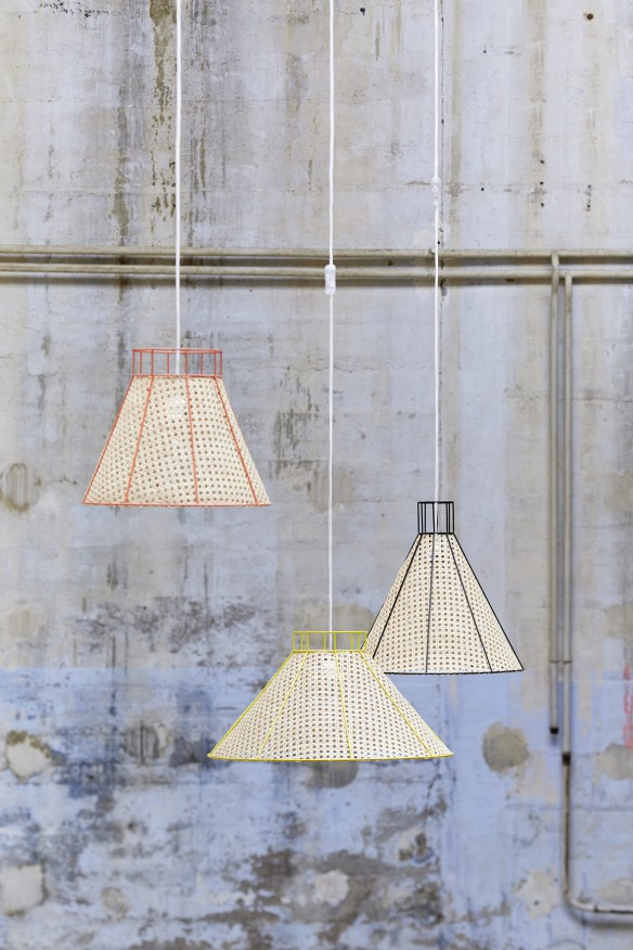 Suspension STRAW collection 2015 par Mon colonel design Paris