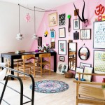 L'appartement coloré et fantaisiste d'une graphiste