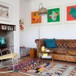 Une déco classique twistée par des tapis boucherouite