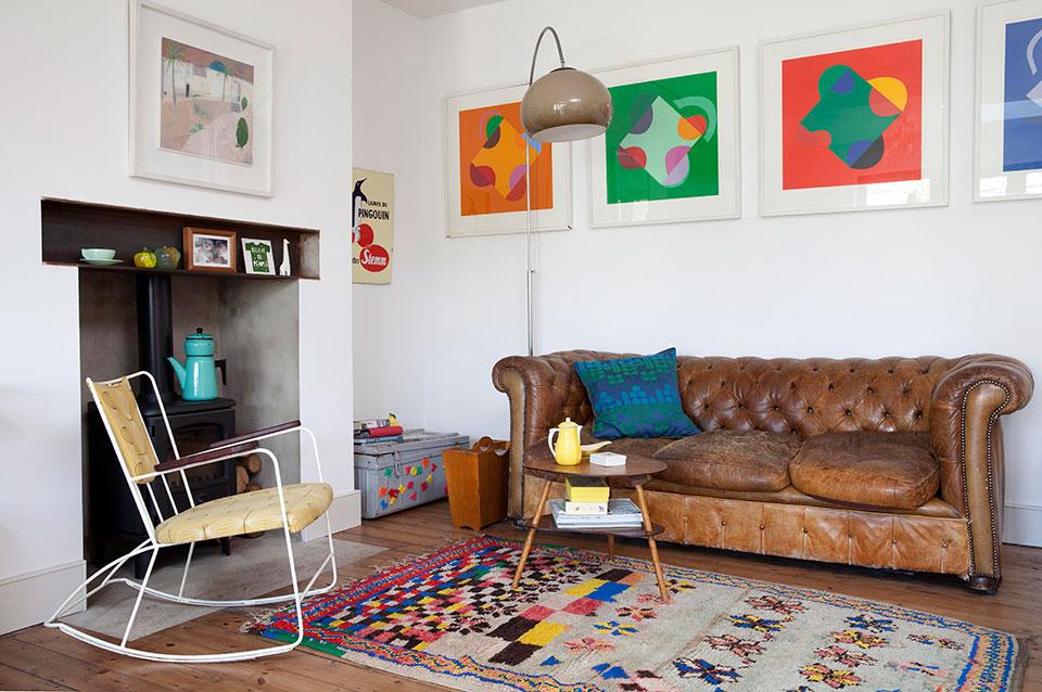 Tamsin Flower London interior || Beldi Rugs