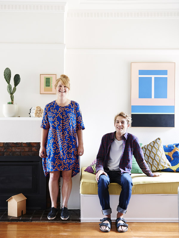 La maison d'Adelaide Daniell, Fraser Daniell et Harry Scott à Melbourne    Sous influence du style Memphis