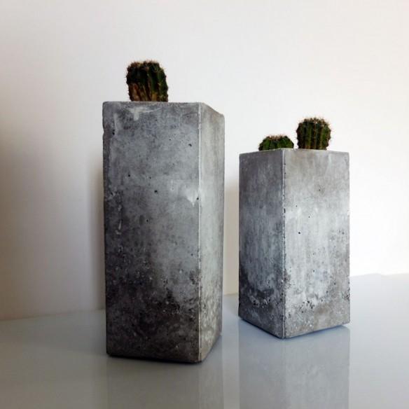 design MISC Pots en ciment