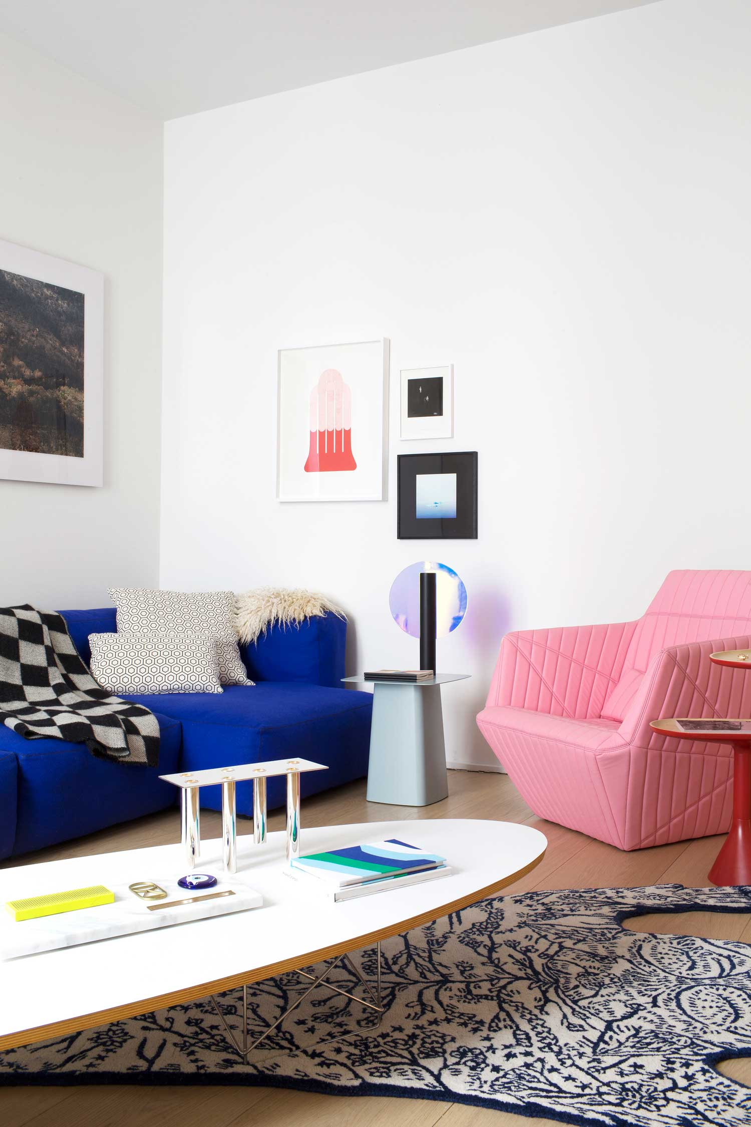 Rodolphe Parente architecte d'intérieur - Appartement 108    Sous influence du mouvement Memphis